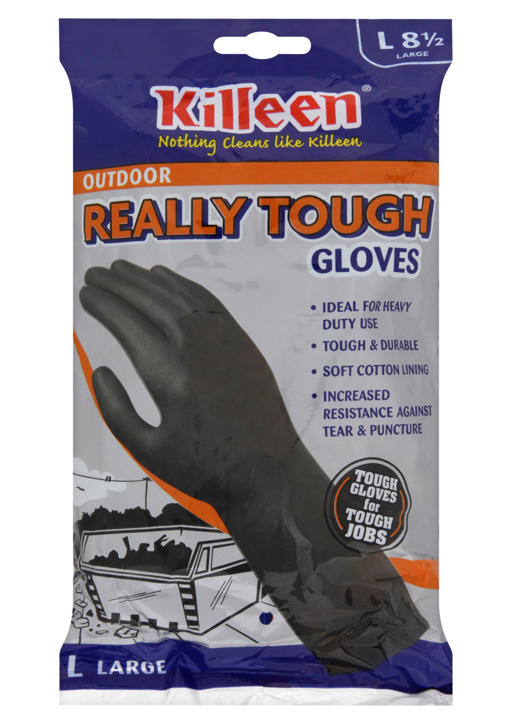 Killeen  Really Tough Outdoor Gloves - Large