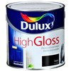 Dulux  High Gloss Black Paint - 750ml