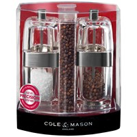 Cole & Mason Seville Precision Refill Salt & Pepper Mill Gift Set