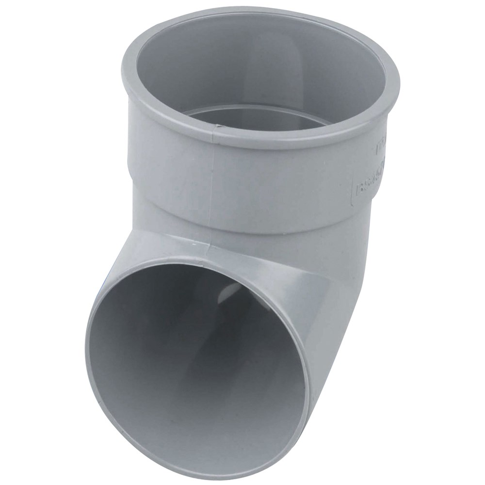 Wavin Grey Pvc Downpipe Shoe 68mm Gutter Amp Down Pipes