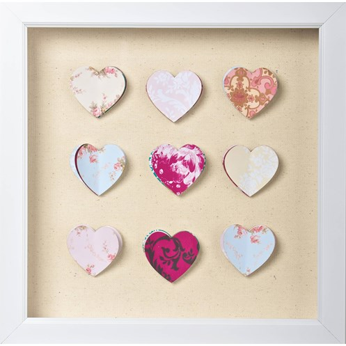 Graham & Brown Home Hearts Corsage Framed Wall Art