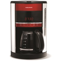 Morphy Richards  Accents Filter Coffee Maker - Red
