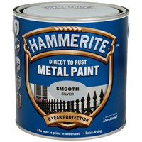 Hammerite  Direct to Rust Smooth Finish Metal Paint - 2.5 Litre