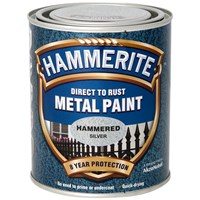 Hammerite  Direct to Rust Hammered Finish Metal Paint - 750ml