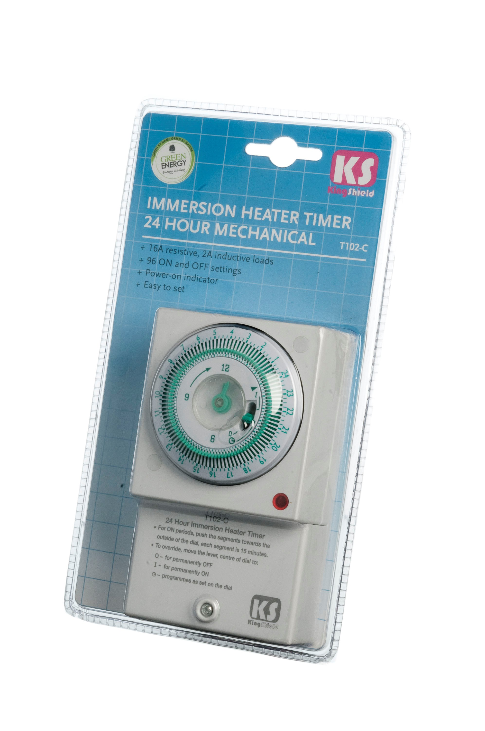 Kingshield  24 Hour Immersion Heater Timer