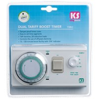 Kingshield  QE7 Dual Tariff Boost Timer - 16 Amp
