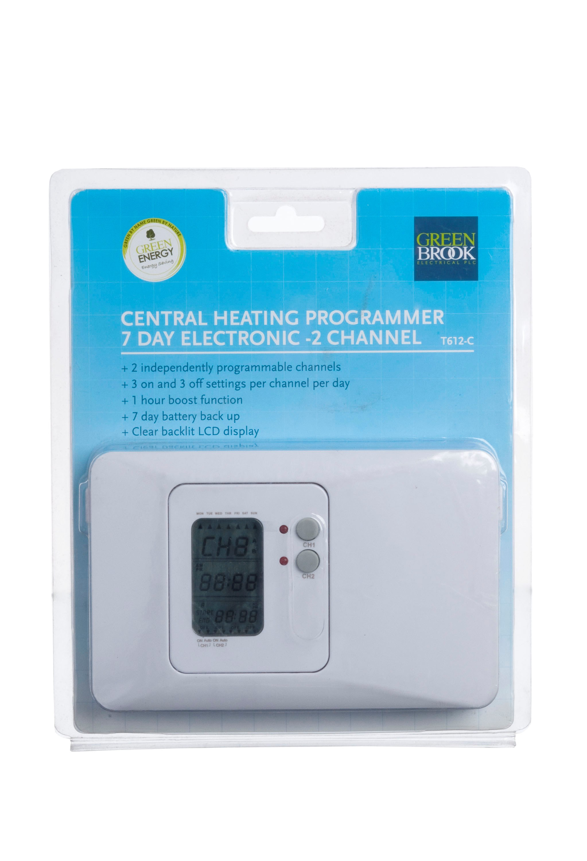 Kingshield  7 Day 2 Channel Electronic Timer - 3 Amp
