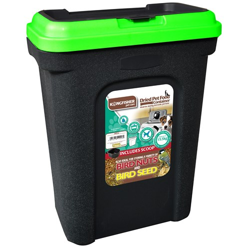 Kingfisher Dried Pet Food Container 30 Litre Pet Food