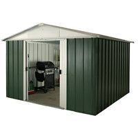 Yardmaster  Deluxe Apex Metal Shed 6ft x7ft