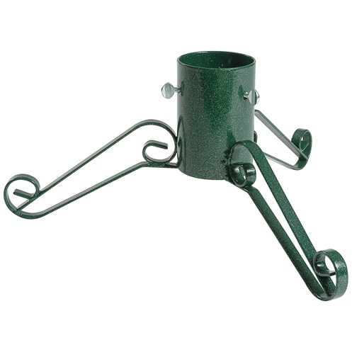 bosmere traditional green metal christmas tree stand 4in
