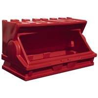 Kingspan Titan  Red Maxi Outdoor Storage Bunker