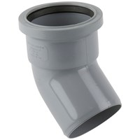 Brett Martin  Single Socket 135° Soil Pipe Bend - 110mm