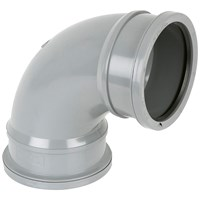 Brett Martin  Double Socket 92.5° Soil Pipe Bend - 110mm