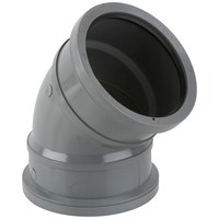 Brett Martin  Double Socket 135° Soil Pipe Bend - 110mm