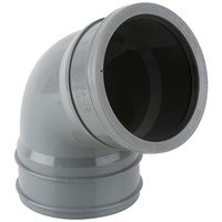 Brett Martin  Single Socket 112.5° Soil Pipe Top Offset Bend - 110mm