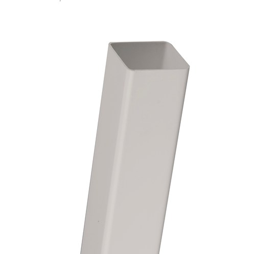 Brett Martin  White Square Downpipe - 65mm