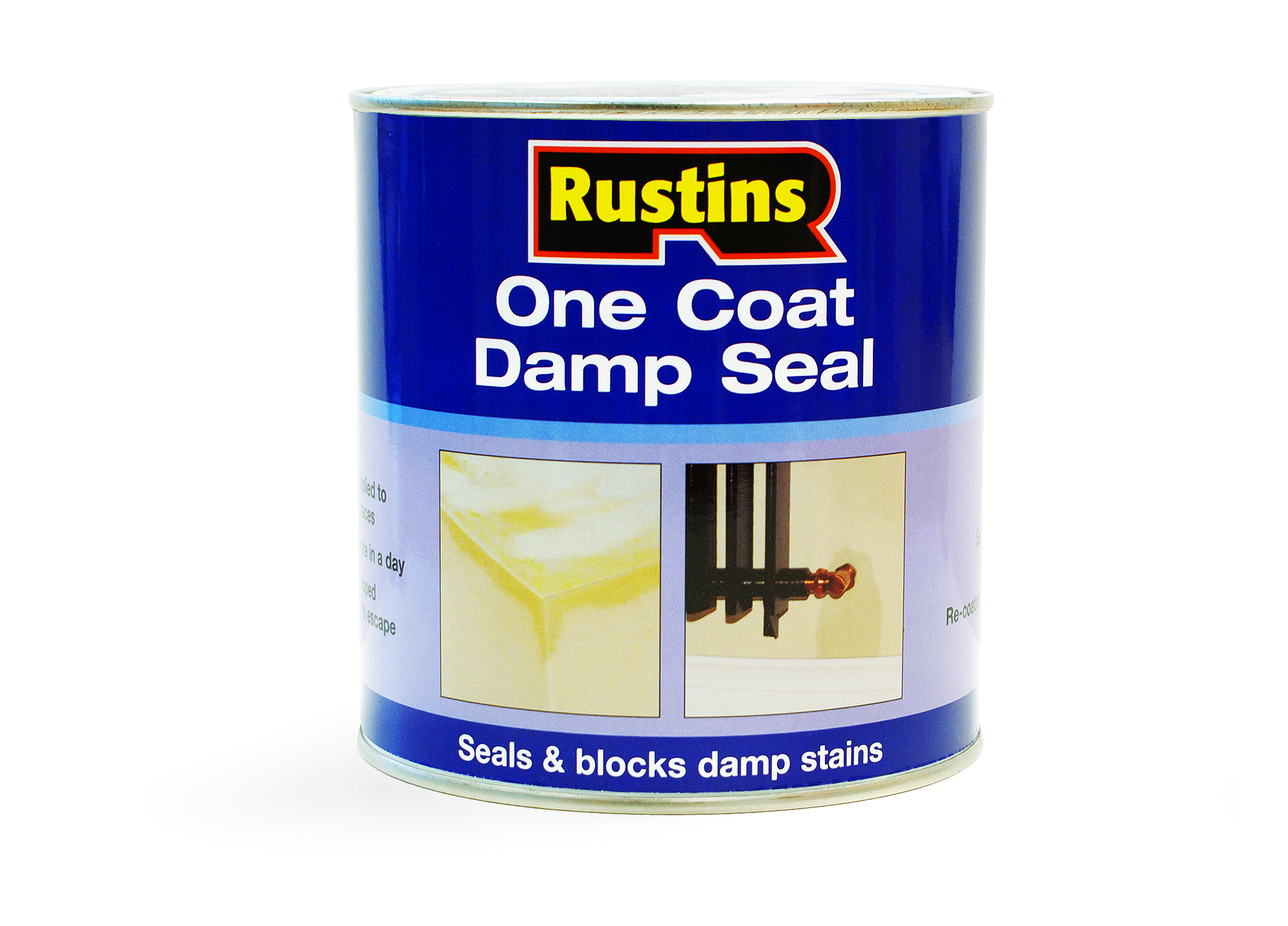 Lovely Interior Damp Seal Paint Part - 7: Rustins One Coat Damp Seal Paint - 1 Litre