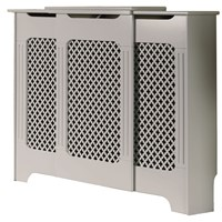 Winther Browne  Classic Adjustable Radiator Cabinet 918 x 220mm - White