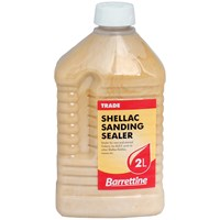 Barrettine  Shellac Sanding Sealer - 2 Litre