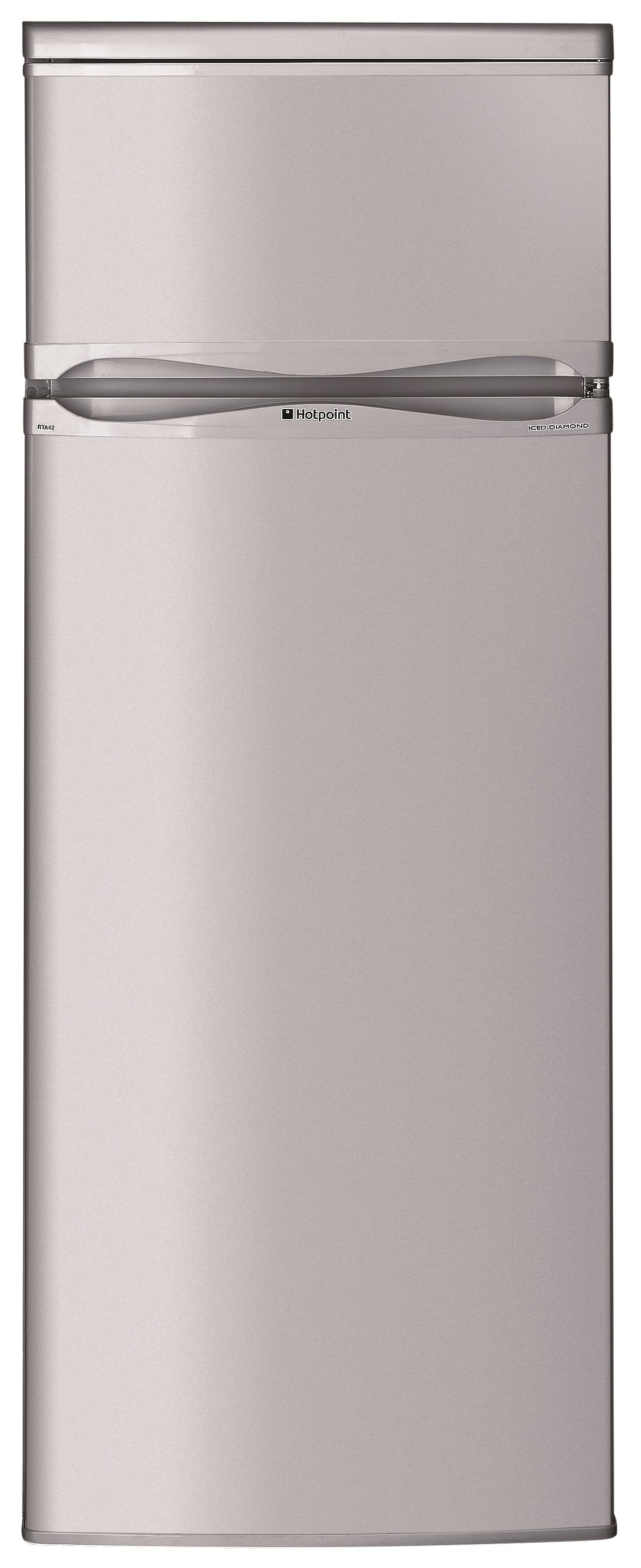 Hotpoint  Silver Freestanding Fridge Freezer - MT1A132