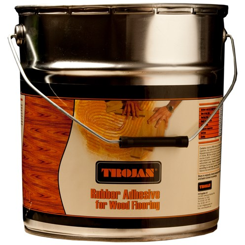 Trojan Rubber Adhesive For Parquet 14kg Adhesives