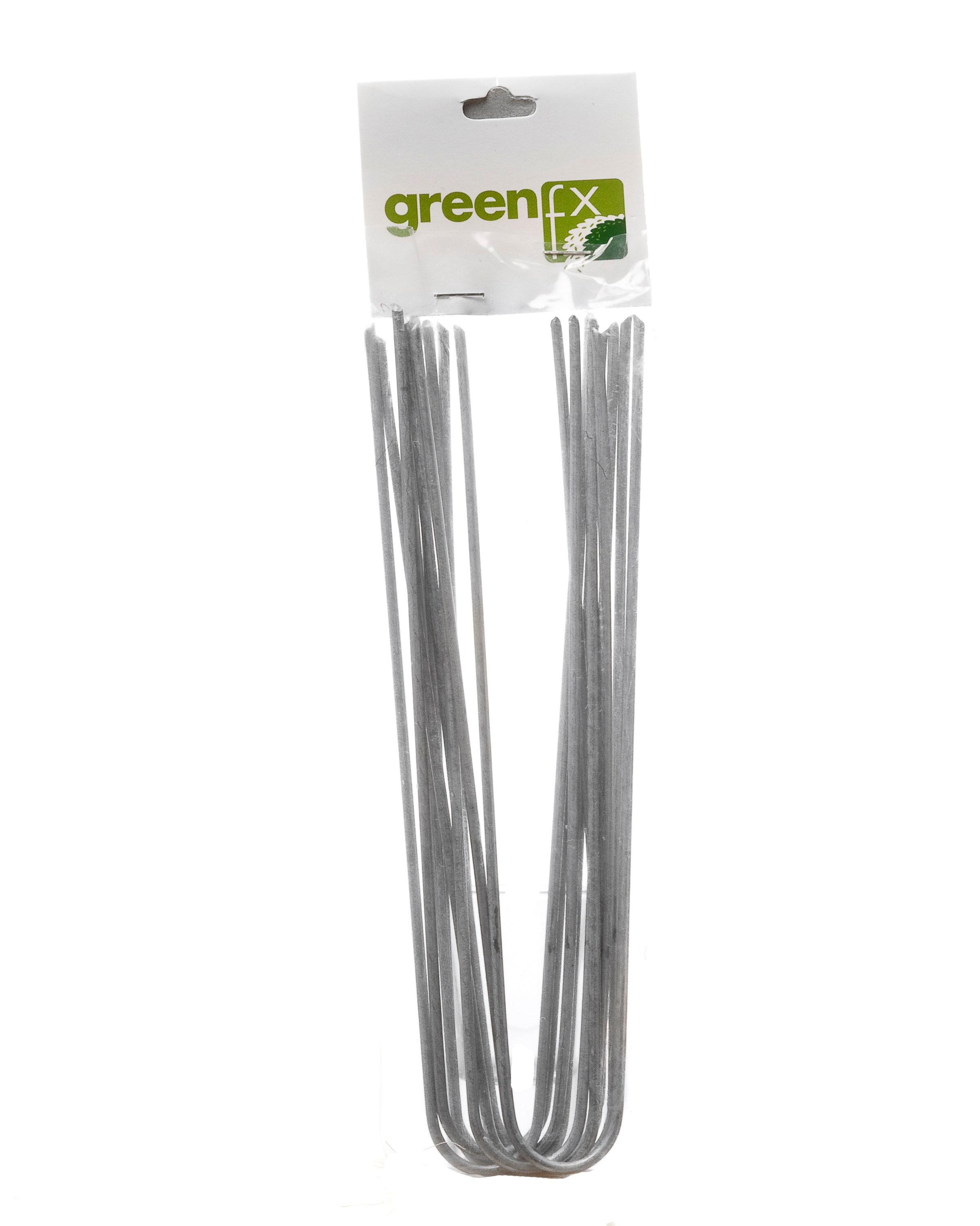 GreenFx  Artificial Grass Fixing Pins 20cm - 10 Pack