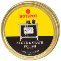Hotspot  Stove & Grate Polish Tin Black - 170g