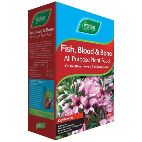 Westland  Fish, Blood & Bone Fertiliser- 3.5kg
