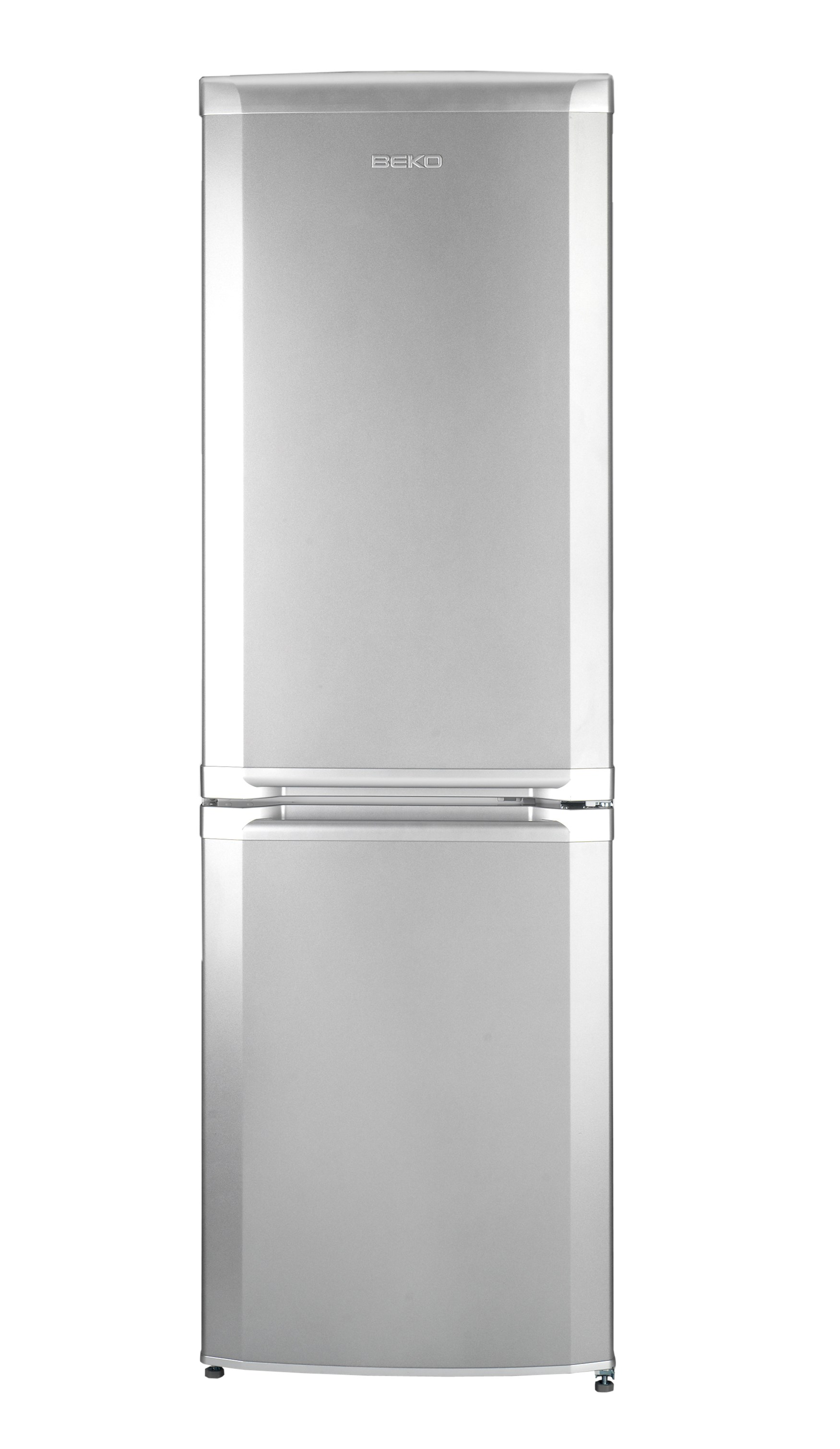 Beko  Freestanding Static Fridge Freezer Silver - CS5713AP