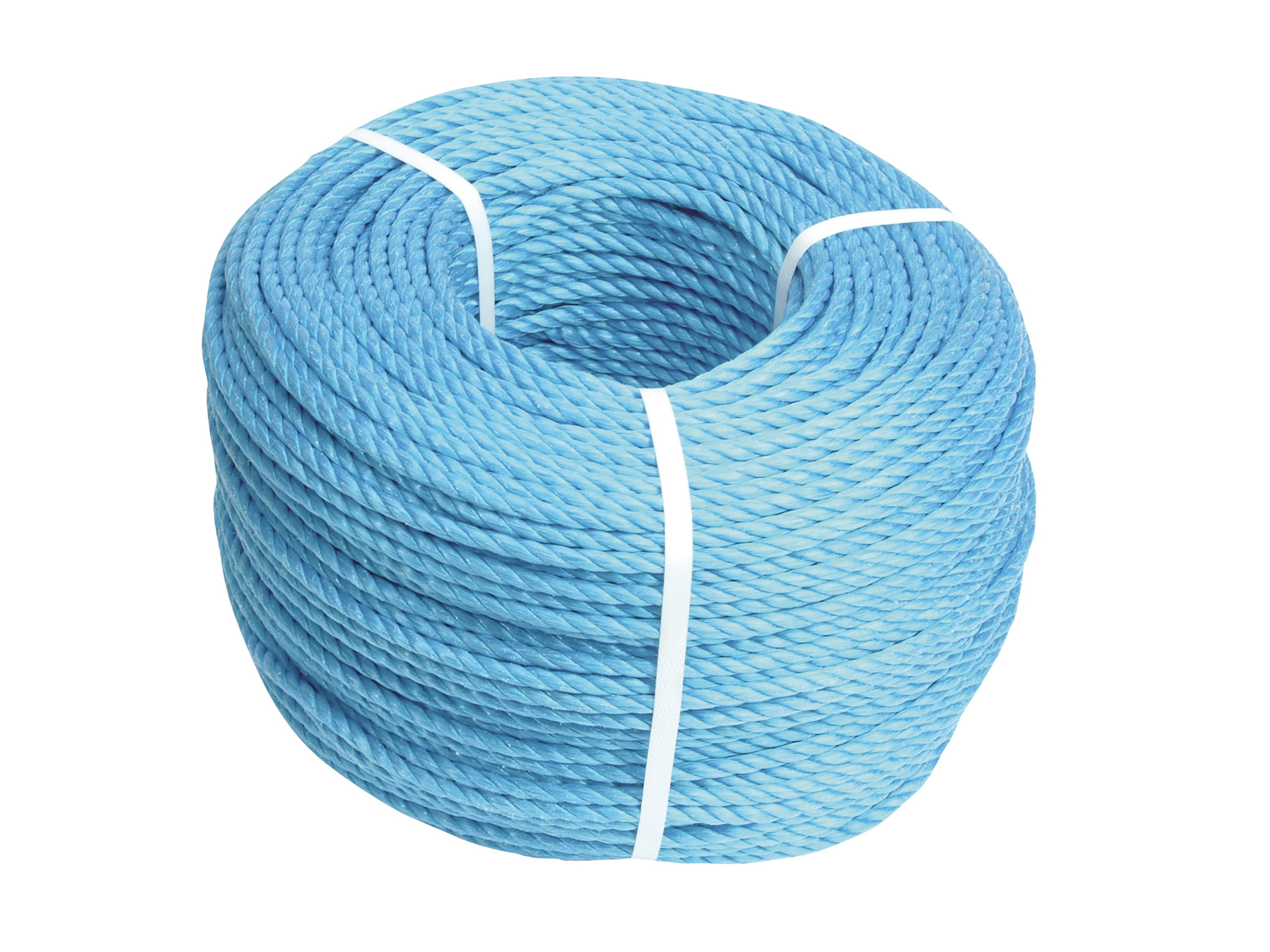 Faithfull  Blue Poly Rope Coil - 30m