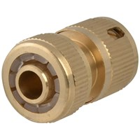 Faithfull  Brass Female Hose Connector - 1/2in