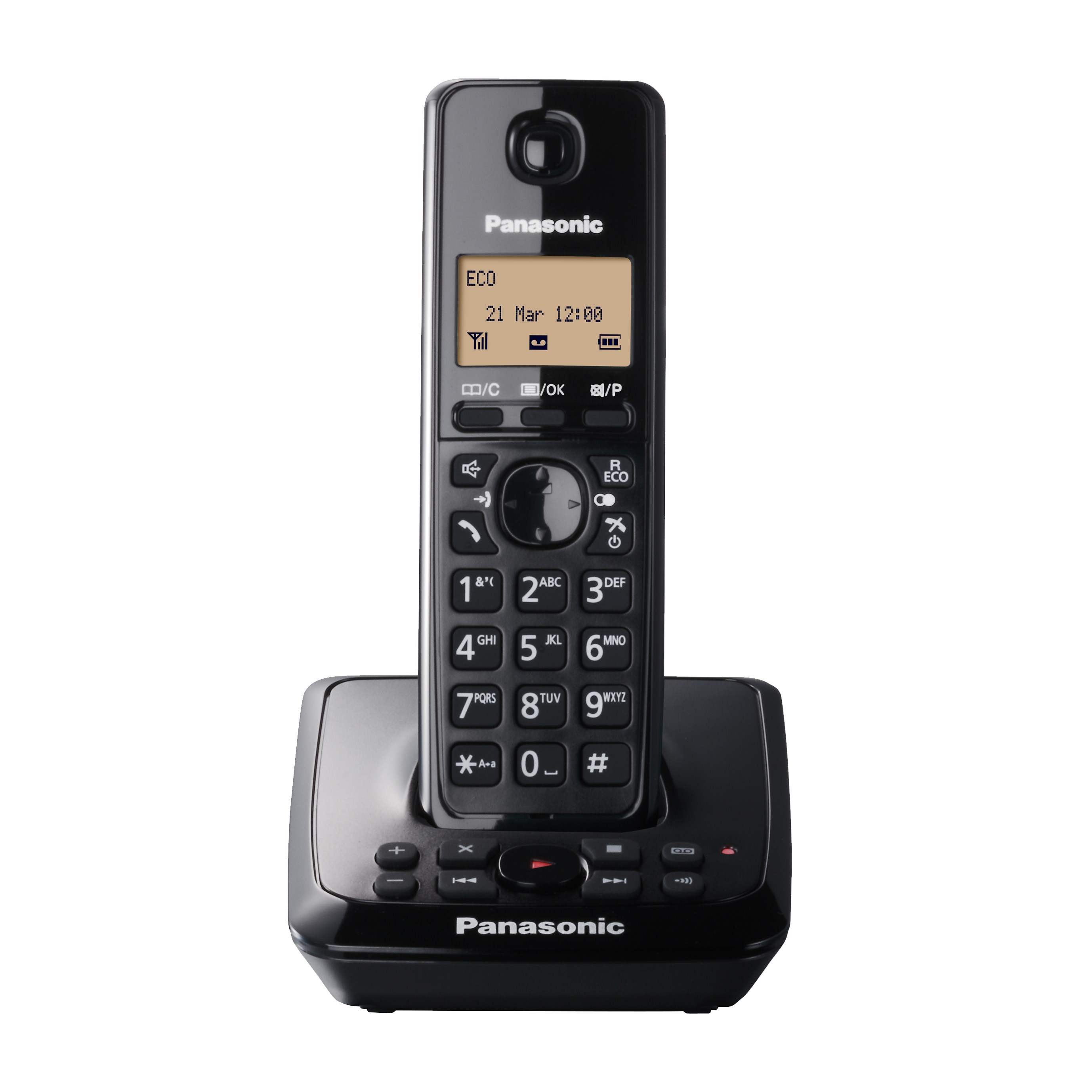 Panasonic  Cordless Portable Phone with Answering Machine - KX-TG2721