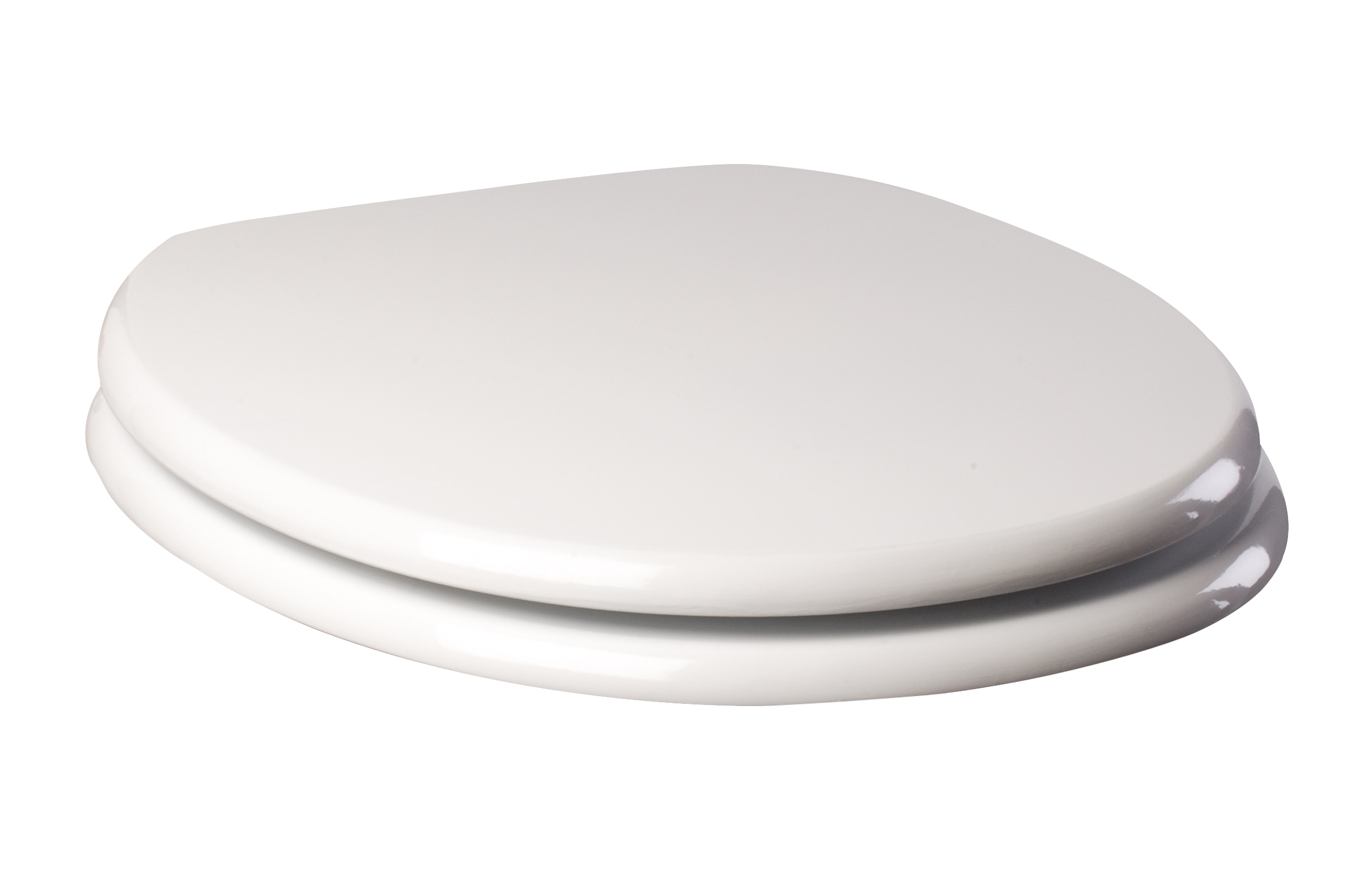 euroshowers moulded toilet seat white