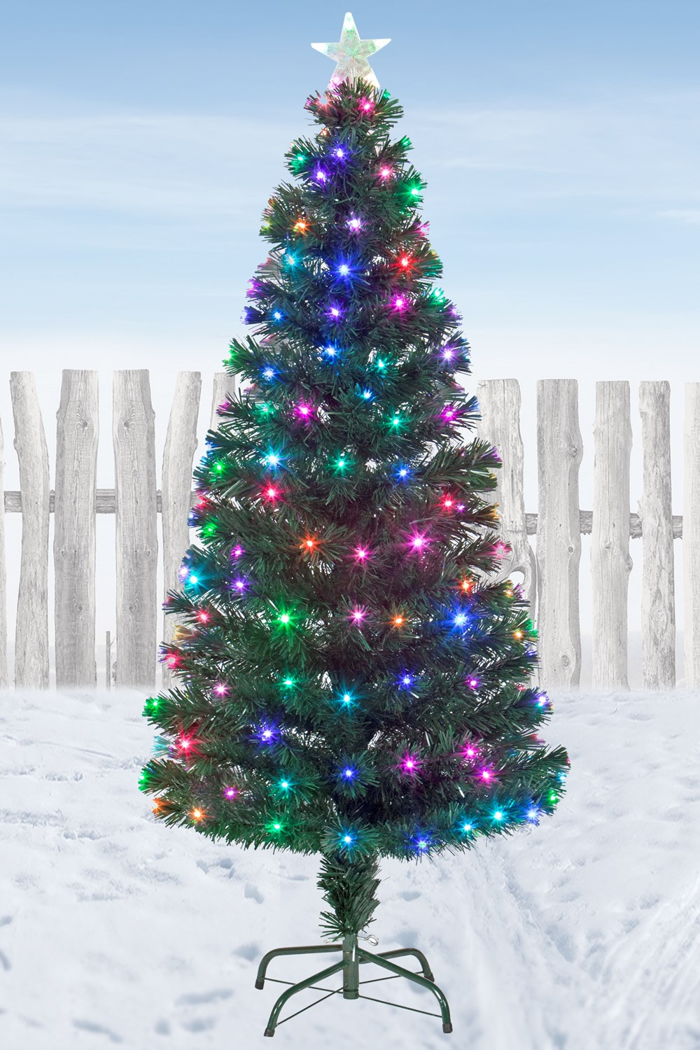 5ft Christmas Tree With Led Lights Decoratingspecial Com