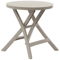 Suntime  Oregon Folding Bistro Table - Cappuccino
