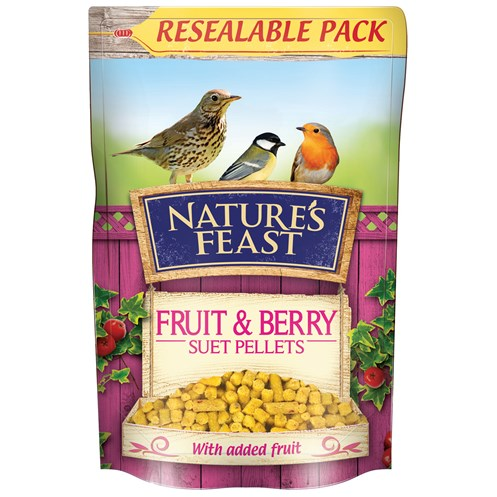 Nature's Feast  Fruity Suet Pellets - 1.75kg