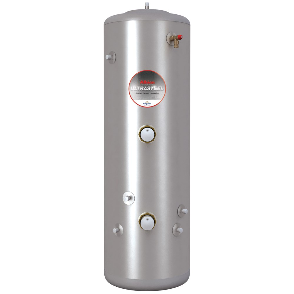 Kingspan Ultrasteel Indirect Stainless Steel Unvented Cylinder - 300 ...