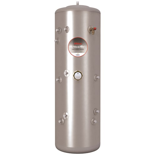 Kingspan Ultrasteel Indirect Stainless Steel Unvented Cylinder - 250 ...