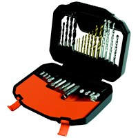 Black & Decker  A7183 Titanium Drill Bit Kit - 30 Piece