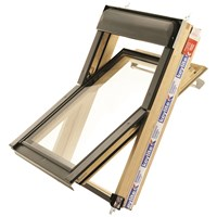 Keylite  Centre Pivot Roof Window with Thermo Plus Glazing - Pine