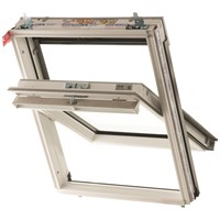 Keylite  Centre Pivot Roof Window - White