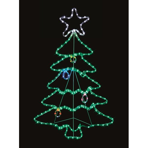 Premier decorations twinkling led rope light christmas tree 117 x premier decorations twinkling led rope light christmas tree 117 x 72cm aloadofball Gallery
