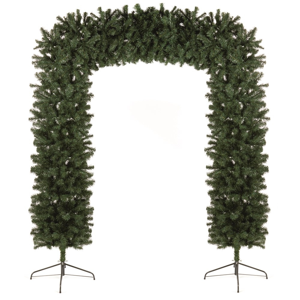 premier decorations christmas display arch 8ft - Christmas Arch Decorations