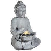 Premier  LED Buddha Water Feature -45cm