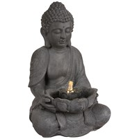 Premier  LED Buddha Water Feature - 45cm