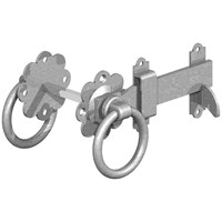 GateMate  150mm Ring Gate Latches 5 Pack - Galvanised
