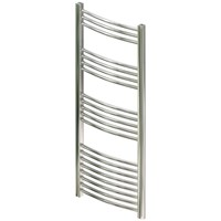 Chrome Straight Towel Warmer 800 x 500