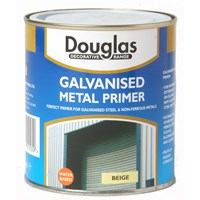 Douglas Decorative Range Galvanised Metal Primer - 1 Litre