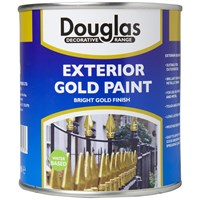 Douglas Decorative Range Exterior Gold Paint - 500ml