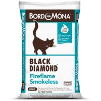 Bord na Móna Black Diamond Fireflame Smokeless Coal - 20kg